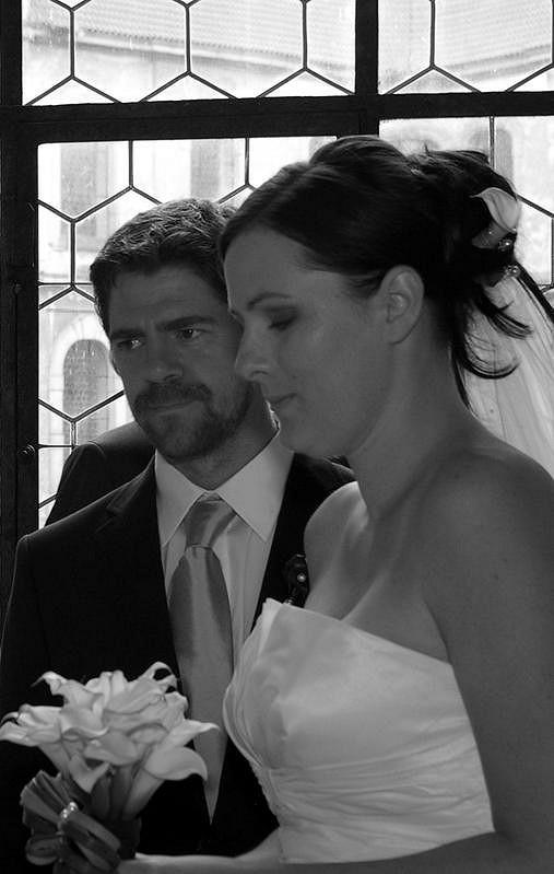 Viktor Limr bral svou svatbu opravdu vážně.