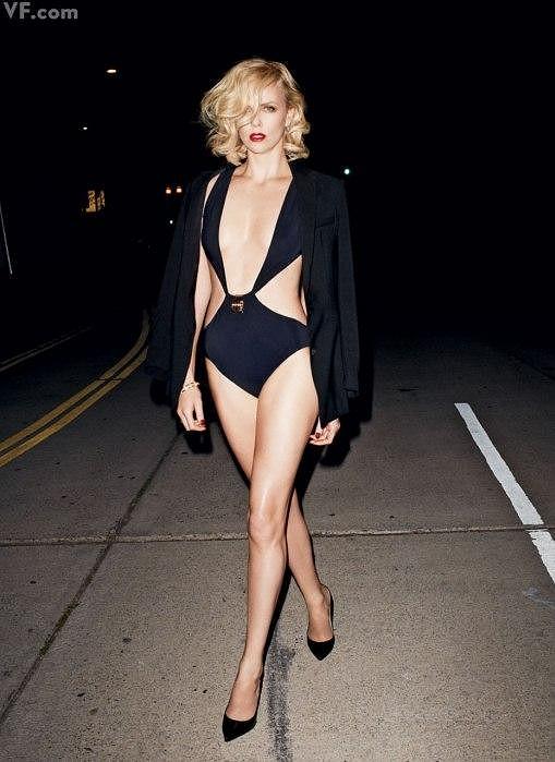 Herečka fotila pro časopis Vanity Fair.