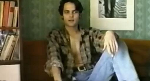 Jaro Slávik před mnoha lety, kdy se věnoval gay pornu.