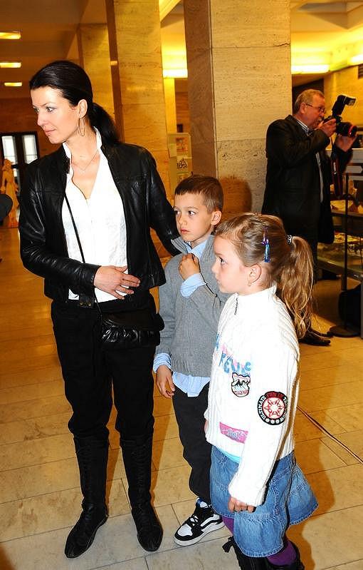 Elen Valentová s dětmi