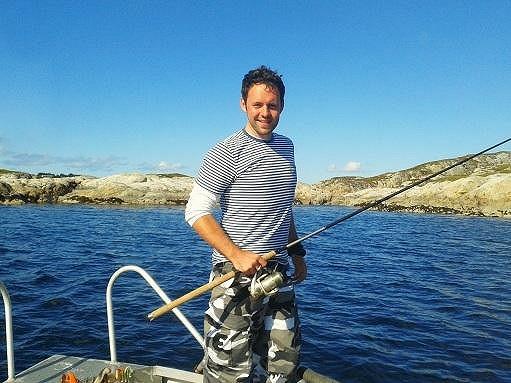 Rybář Michael.