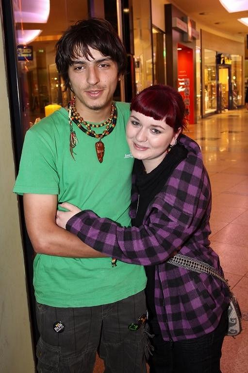 Alžběta Klečkářová a Michal Šeps během SuperStar. Jejich láska skončila před pěti měsíci.
