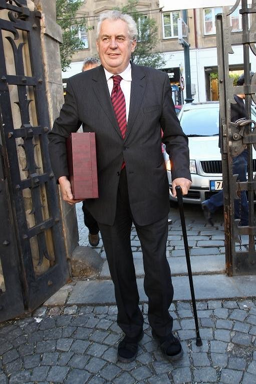 Bývalý premiér Miloš Zeman