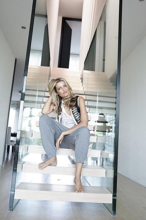 Tereza Maxová ve svém pražském bytě.