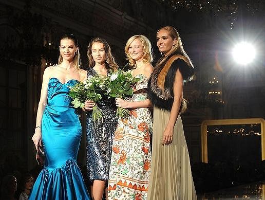 Vítězky Schwarzkopf Elite Model Look s Táňou Kuchařovou a Pavlínou Němcovou.