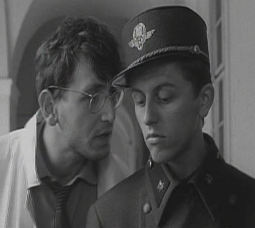 Ve filmu Ostře sledované vlaky po boku Václava Neckáře.