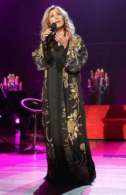 Lara Fabian ze sebe během koncertu vydala maximum emocí.