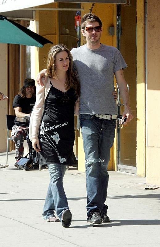 Alicia Silverstone s manželem.