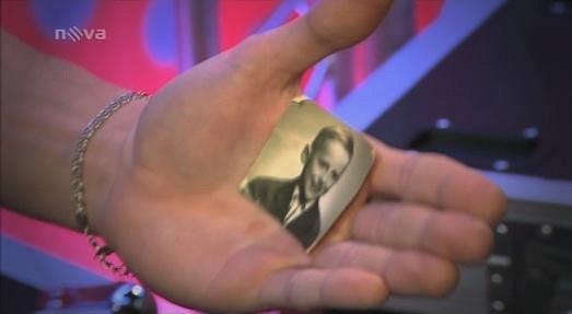 Tátovu fotku svíral Dan v dlani během výběru naslepo.