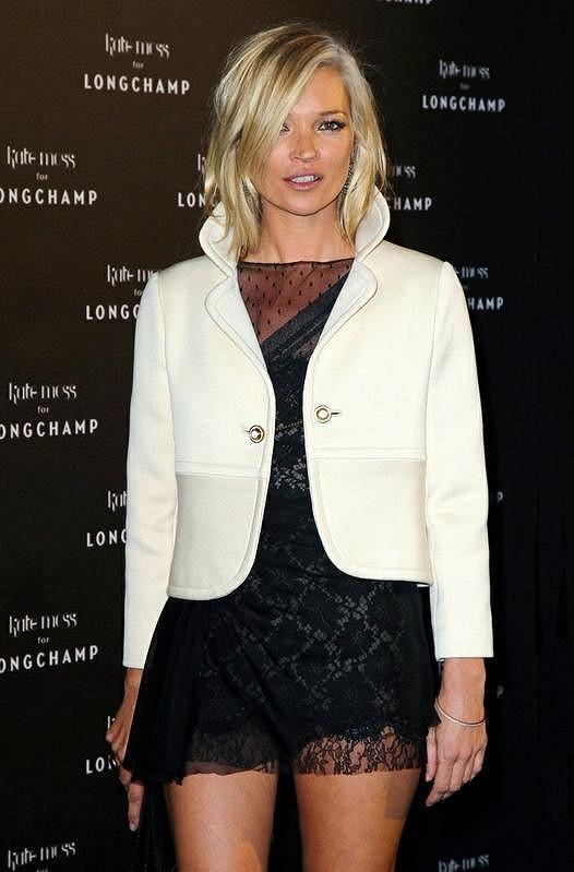 4. místo - Kate Moss.