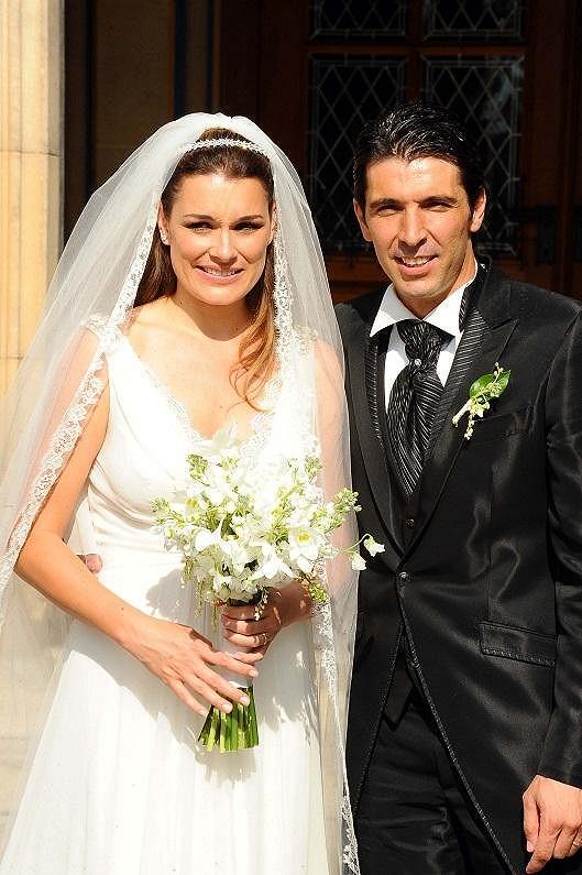 Italská média spekulují o rozvodu Aleny Šeredové a slavného brankáře Buffona.