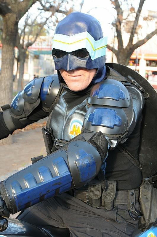 Superhrdina Menganno.