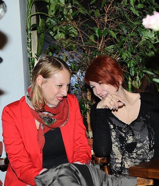 Rozárka Kohoutová s dlouholetou maminčinou kamarádkou Uljanou Donátovou.