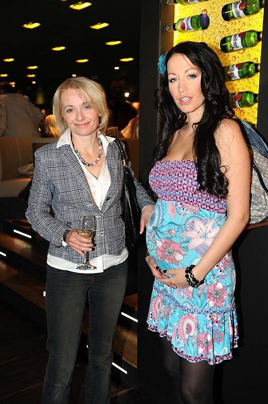Veronika Žilková s dcerou Agátou Hanychovou