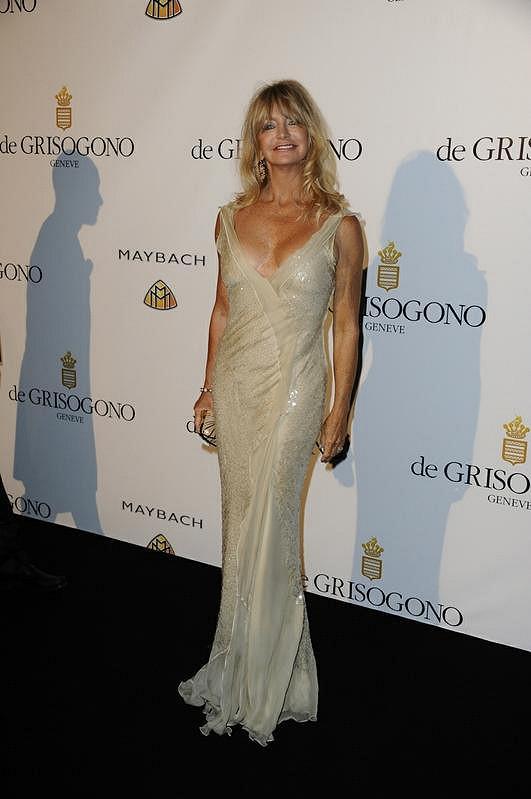 Goldie Hawn ve společnosti.