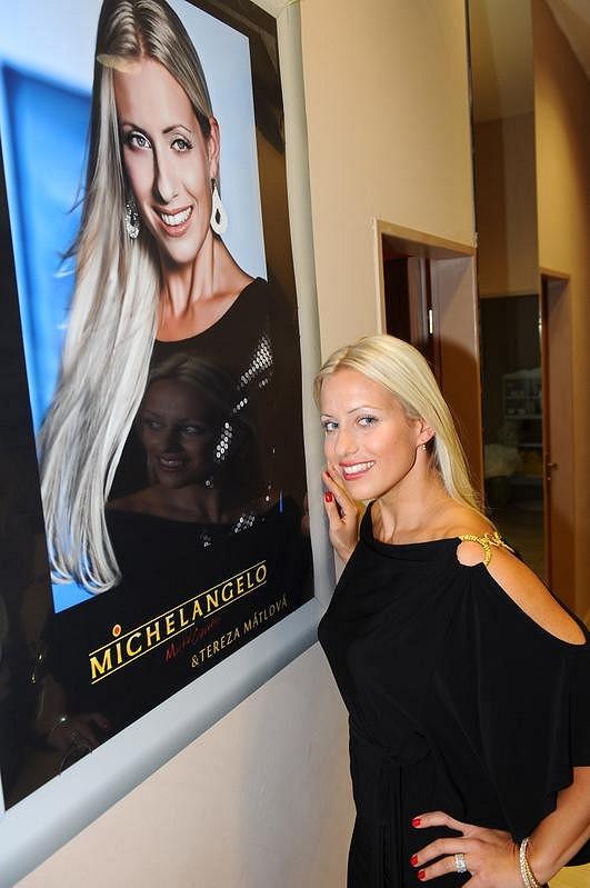 Tereza Mátlová se stala tváří kadeřnického salonu