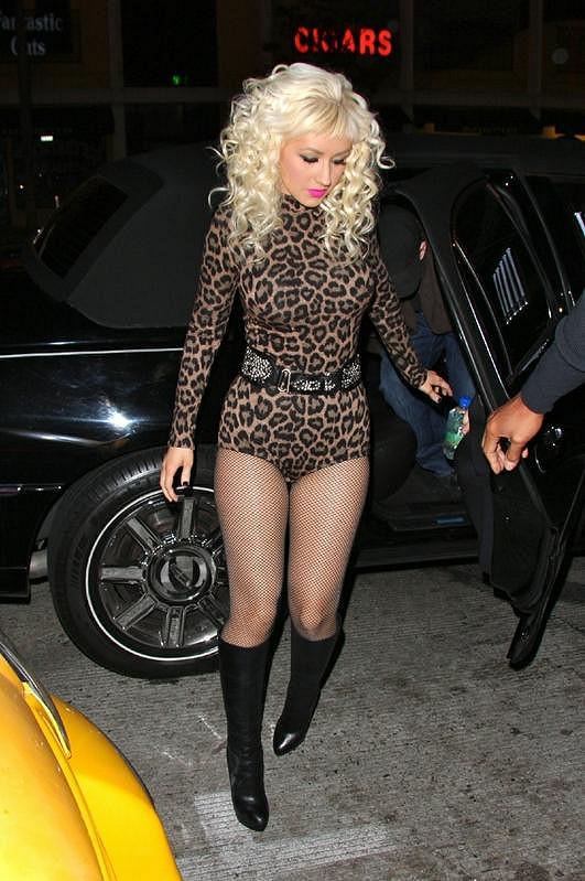 Aguilera začala být unavená z toho, jak ji lidé vnímali, když byla hubená.