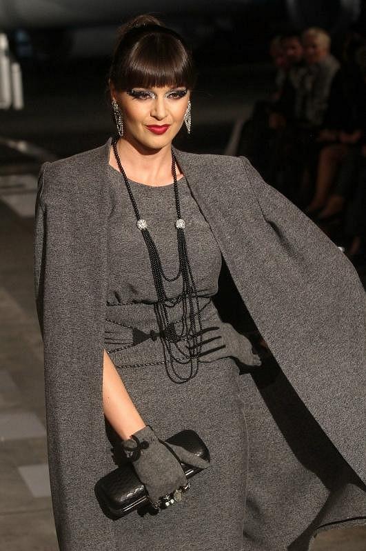 Kubelková obléká Laffitovy šaty zejména na společenské akce. Často se ale stává, že hned po přehlídce jsou všechny jeho modely rozprodány.
