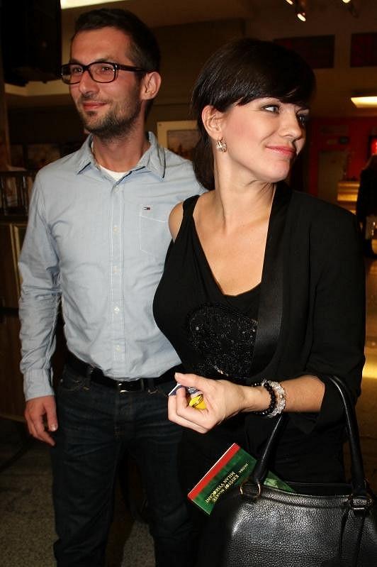 Marta Jandová se svým tajemným přítelem.