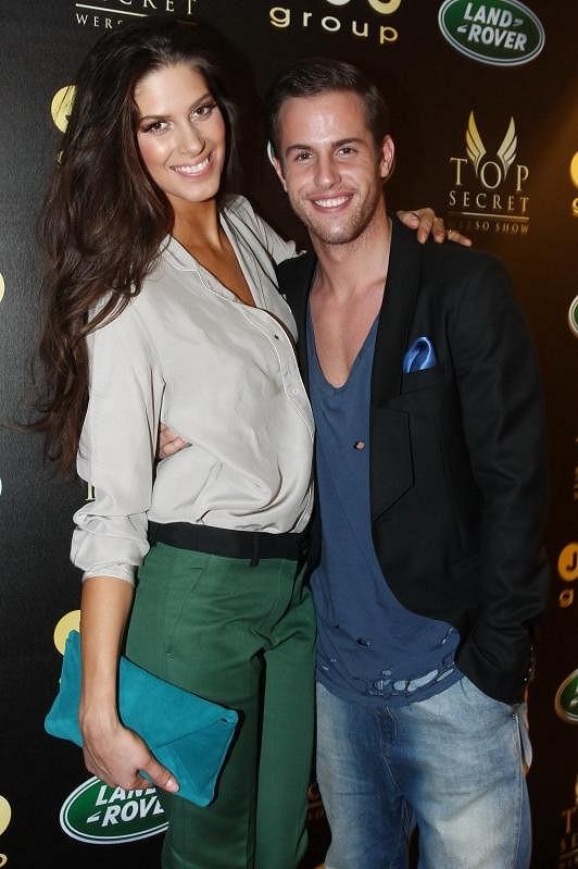 S Anetou byl barevně sladěný i její stylista Lukáš Macháček.