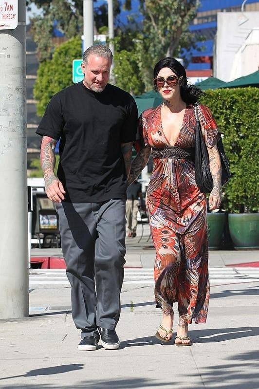 Jesse James a jeho snoubenka Kat Von D.
