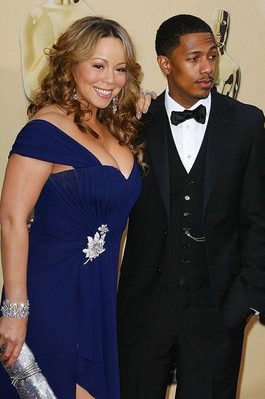 Manželé Mariah Carey a Nick Cannon.