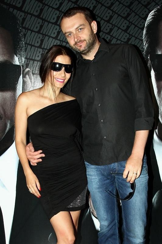Eva Decastelo s manželem.