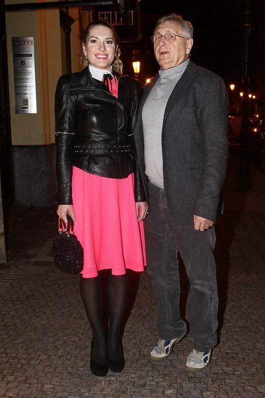 Olga a Jiří Menzelovi spolu často vyrážejí do společnosti.