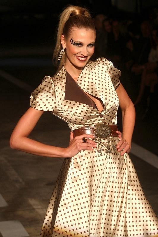 Kateřina Průšová patří k nejkrásnějším českým modelkám.
