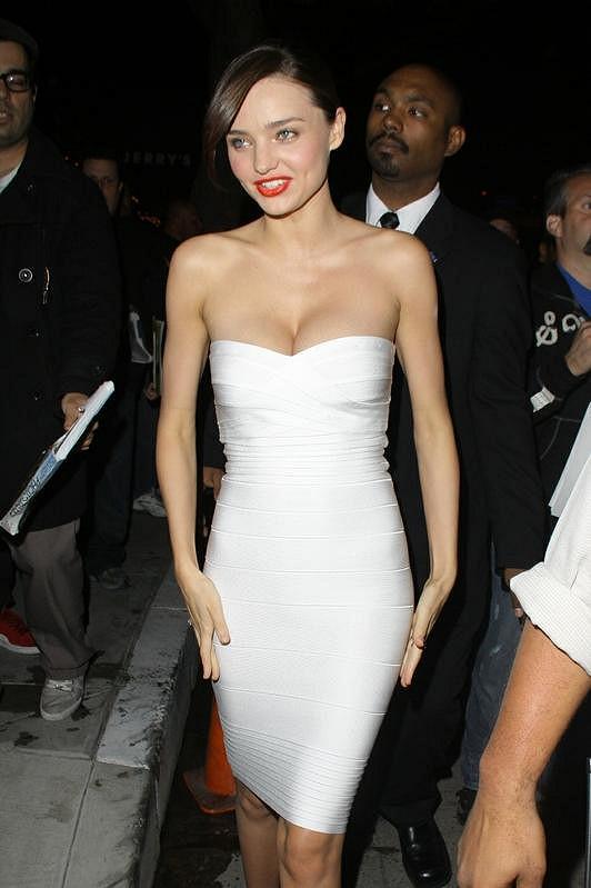 Krásná Miranda Kerr.