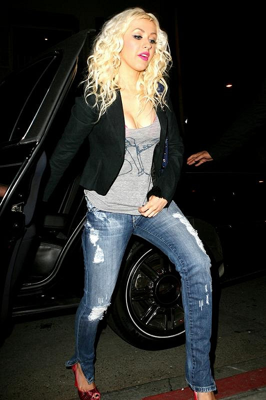 Christina si vždy zakládala na své štíhlé postavě. Teď je vše jinak.