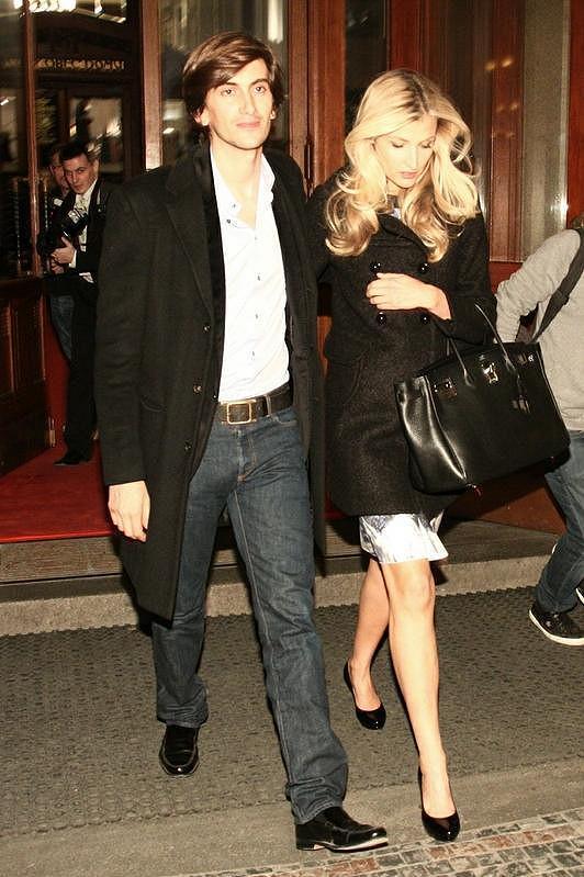 Tereza Maxová s přítelem Burakem.