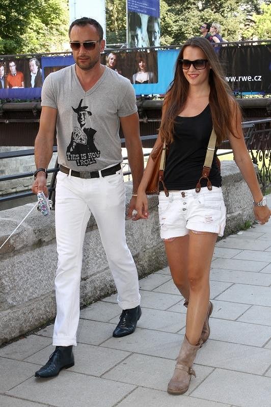 Kateřina Sokolová s přítelem Robertem Hájkem se báli o svého miláčka.