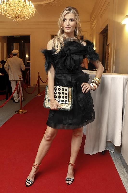 Tereza Maxová v modelu Fendi.