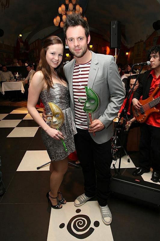 Michael Foret s přítelkyní