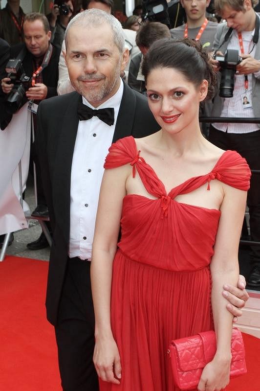 Marek Eben s Klárou Issovou