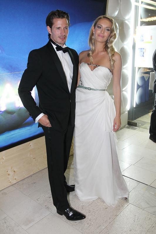 Táňa Kuchařová s přítelem Lane Carlsonem