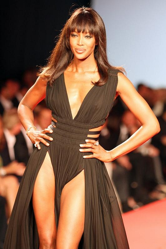 Naomi Campbell v Cannes.