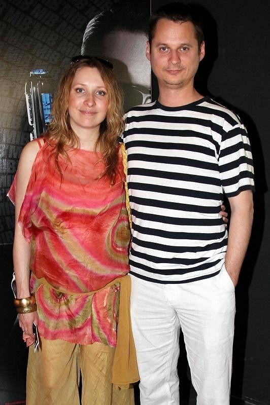 Tereza Bebarová s partnerem Ivanem Kotmelem