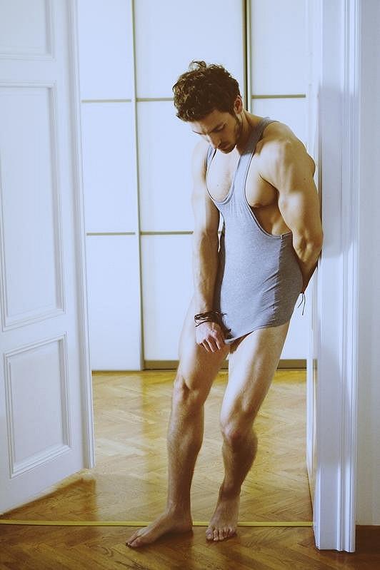 Martin Gardavský je jako model velmi úspěšný.
