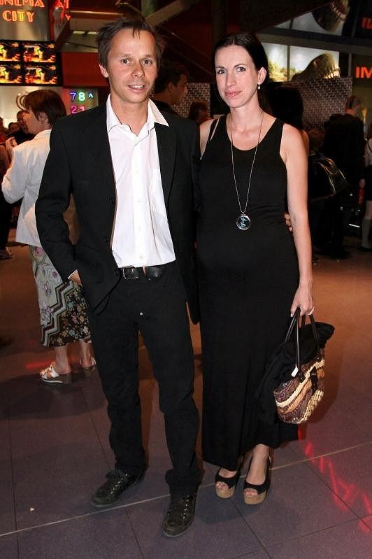 Adam Novák s manželkou Petrou.