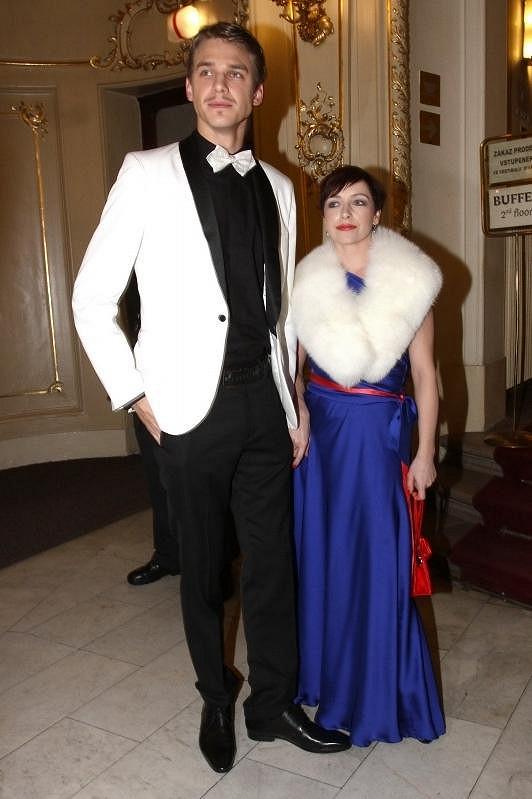 Táňa a Vojta si vyšli na Českého slavíka a vypadali úchvatně.