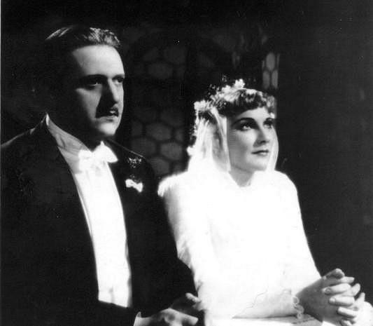 Hugo Haas a Jiřina Štěpničková ve filmu Jedenácté přikázání.