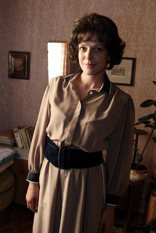 Andrea Kerestešová jako hvězda seriálu Vyprávěj.