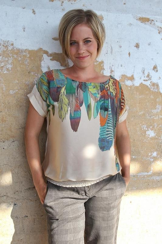 Zuzana Kajnarová je moc krásná žena a mateřství jí moc sluší.