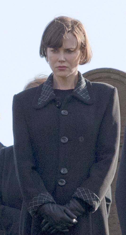 Herečka během natáčení filmu The Railway Man.