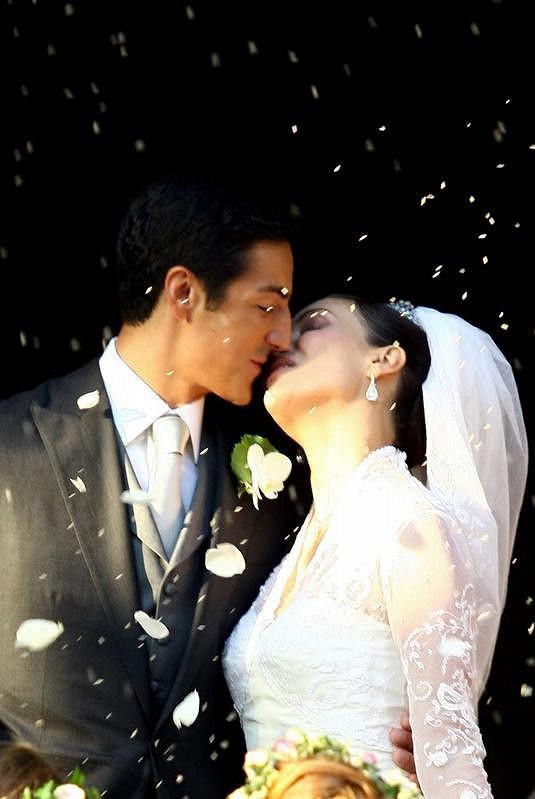 Isabella Orsini v září 2009 v den své svatby s Princem Edouardem.