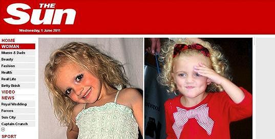 Čtyřletá Teya-Marie Foster chce být jako Princess Tiammii.