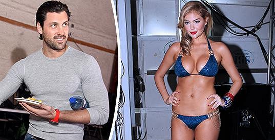 Maksim Chmerkovskiy a Kate Upton jsou skutečně spolu.