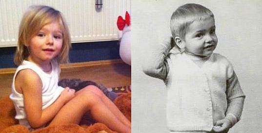 Dařina dcera Laura, jejímž otcem je Matěj Homola, je své mámě velmi podobná.